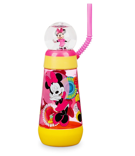 Minnie Mouse Snowglobe Tumbler with Straw