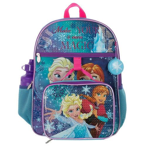 Frozen 5 PC Backpack Set