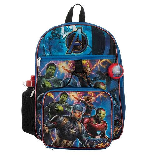 Avengers 5 PC Backpack Set