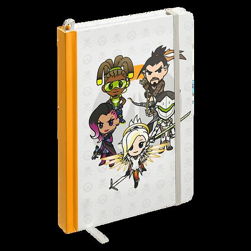 tokidoki x Overwatch Heroes Notebook
