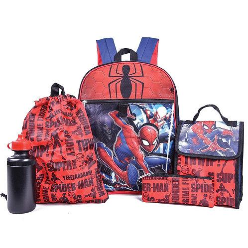 Marvel Spiderman 5 PC Set