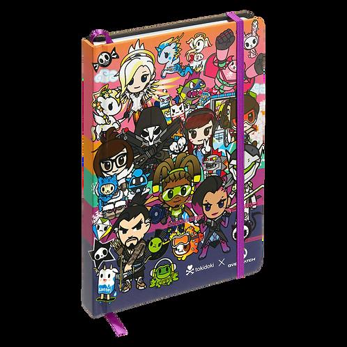 tokidoki x Overwatch Heroes Group Notebook