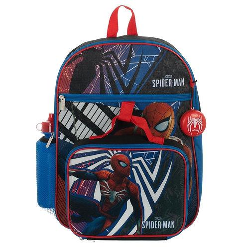 Spiderman 5 PC Backpack Set