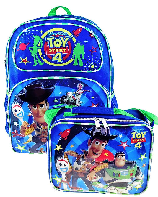 """Toy Story 4  16"""" Backpack and Matching Insulated Lunch Tote"""