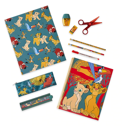 The Lion King Stationery Supply Kit