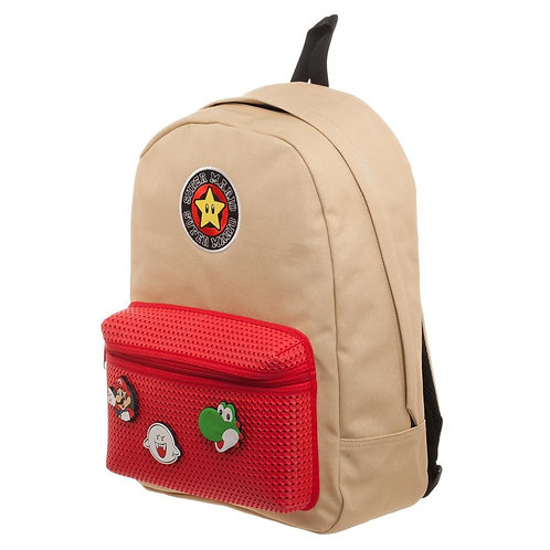 Nintendo Super Mario Backpack with Icons