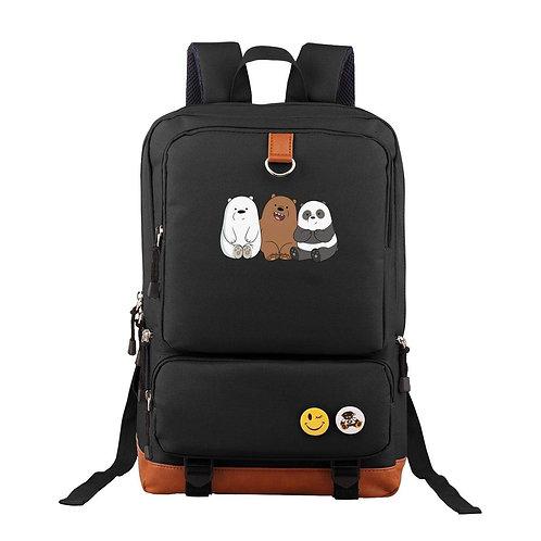 We Bare Bears School Backpack