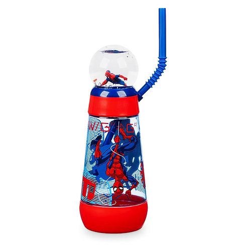 Spider-Man Snowglobe Tumbler with Straw