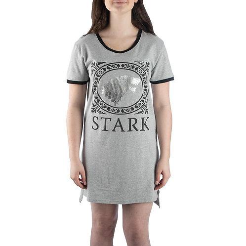 Game of Thrones House Stark Sleep Shirt