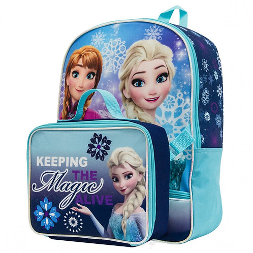 Frozen Backpack with Lunch Box