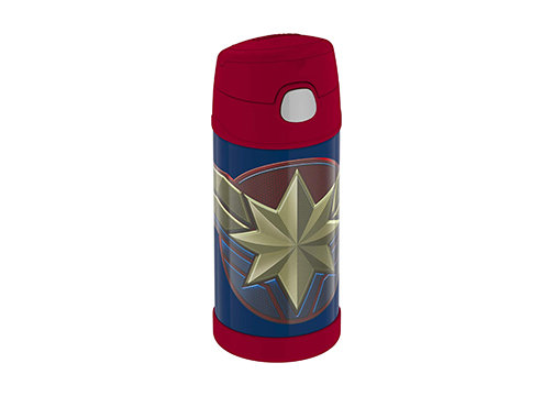 Thermos F4019CP6 Funtainer 12 Ounce Bottle, Captain Marvel