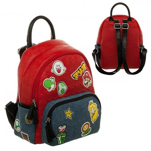 Super Mario Brothers Patches Mini-Backpack