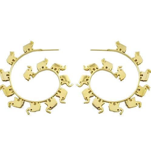 earring elephants