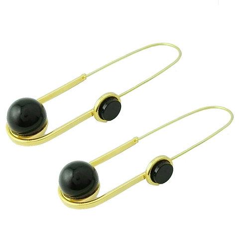 earring onyx