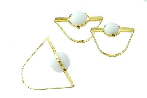 ring white agate