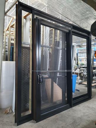 black sliding doors to be installed in Mawson Lakes.jpg
