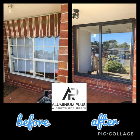 before and after awning to slider Gulfview Heights.jpg