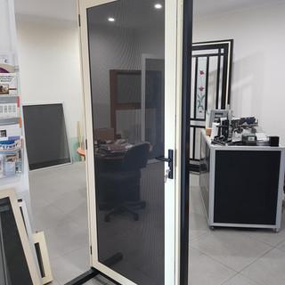 Clearshield screen door