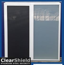 Pearl White bathroom window Salisbury South