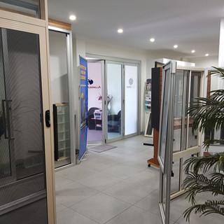 Aluminium Plus showroom