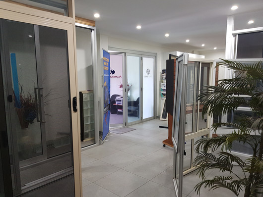 Aluminium Plus showroom
