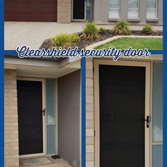 Clearshield security front door in Blakeview