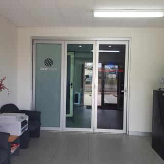 Aluminium Plus reception area