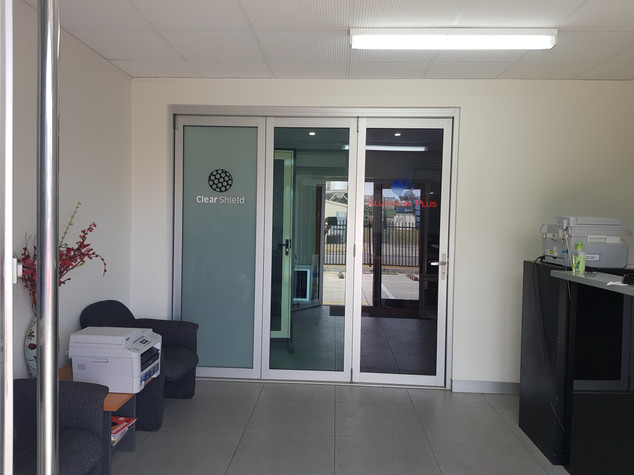 Aluminium Plus reception area