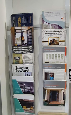Brochures of products Aluminium Plus supply and install
