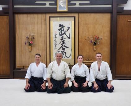 Présense à l'Aikido Shobukan Dojo à Washington DC