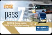 Pass 7 jours Tramway - 7 days Pass Tramway