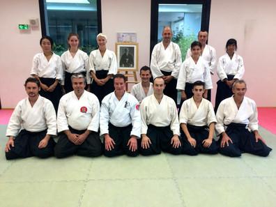 Stage avec Steven Schneid à l'Aikido Club du Baou