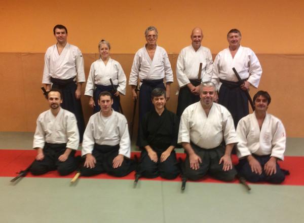 Cours de Iaido avec Marc Durupt, 4e dan