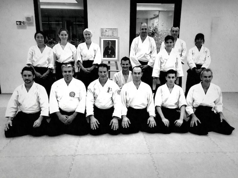 Stage organisé avec avec Steve Schneid de l'Aikido Shobukan Dojo de Washington DC.