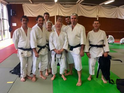 Le Club en compagnie de Luc Mathevet, membre du CTN FFAAA