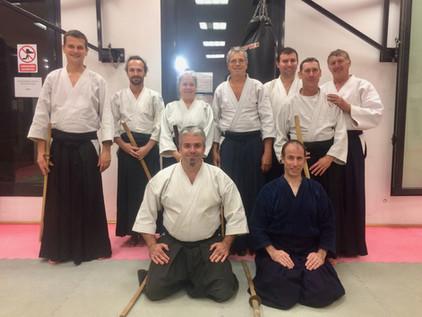 Cours de principes de Kendo avec Frédéri Doyon, 5e dan
