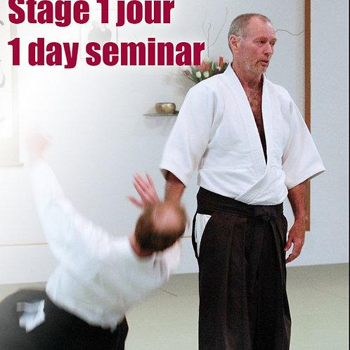 Stage 1 jour - 1 day seminar