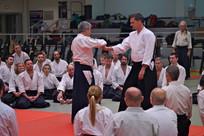 Ikeda Sensei pendant le Stage International d'Aïkido de Nice