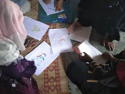 [로힝야 평화의집 언니들] 여성심리지원단 교육시작!