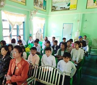 미얀마 연방의 날 기념 행사 : 토론 경연 대회