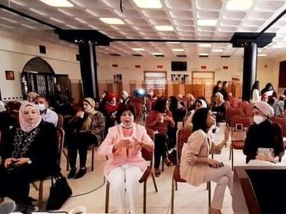 20명 팔레스타인 여성활동가들의 4개월에 걸친 교육, 그리고 수료식