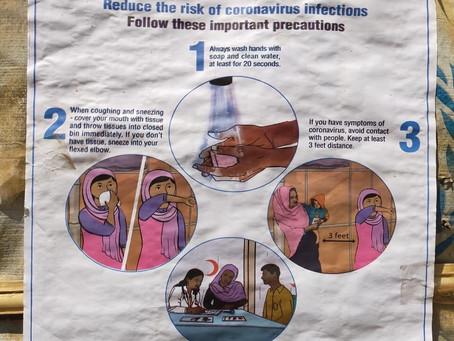 코로나바이러스 in 로힝야캠프