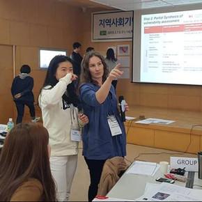지역사회기반 재난위험경감 역량강화 워크샵(IOM)에 참가