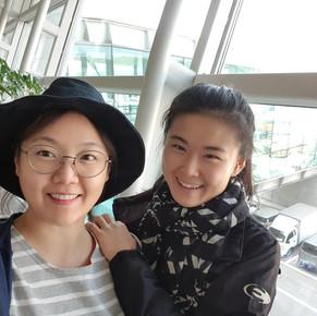 방혜선(조이) 활동가가 오늘 드디어 방글라데시로 파견가요!