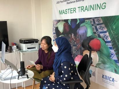 [로힝야 평화의집 언니들] 아디 방글라데시 활동가 2차 마스터 교육