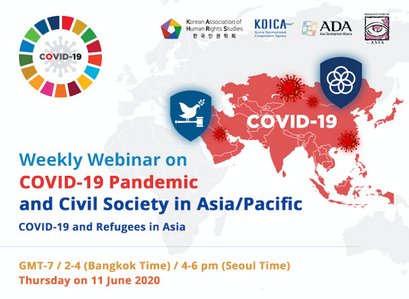 아디의 로힝야 활동, 아시아 태평양 지역의 시민사회와 나누다