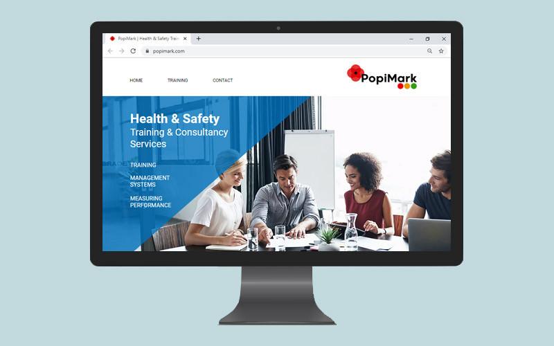 PopiMark website design