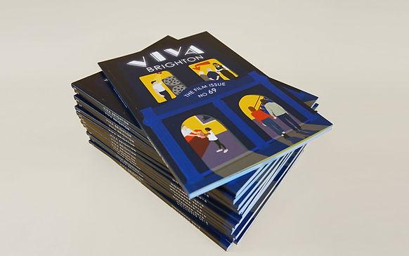 Viva Brighton cover design by Rebecca Cunningham
