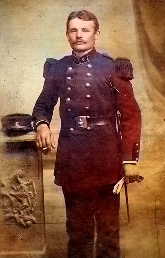 L'Hostis Michel Marie madeleine simier poullaouec patrick milan treouergat finistere plouguin patrimoine histoire guerre 1914 14-18