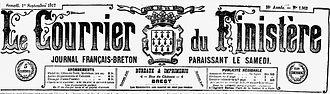 keraudren jea crozon rostudel salonique guichen croiseur 14-18 Finistère Non Mort France Réformé maladie tuberculose suicide fusillé accident